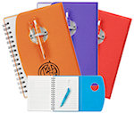 Spiral Notebooks With Shorty Pen